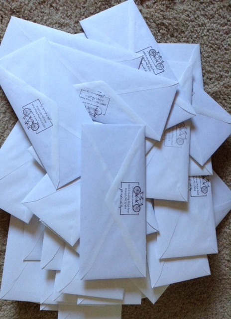 Mountain of Support Letters