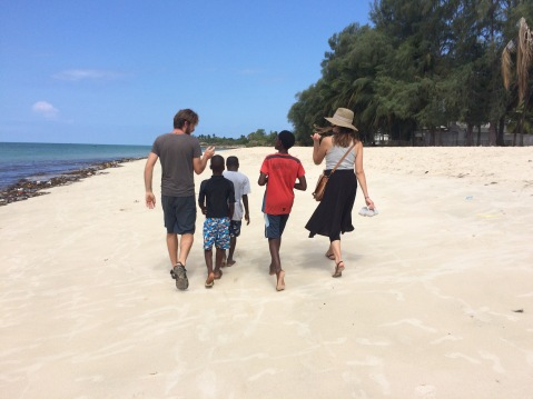 little brothers in Pemba